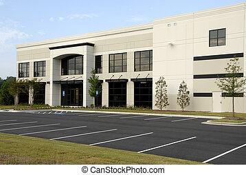 ufficio, costruzione commerciale