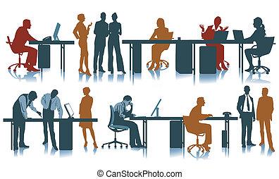 ufficio, posto lavoro