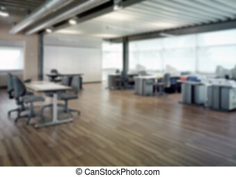 ufficio, sfocato, backg