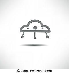 ufo, ícone