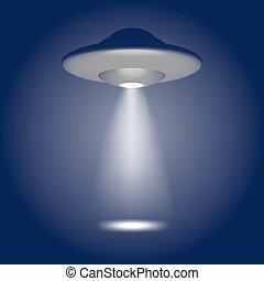 UFO, alien ship