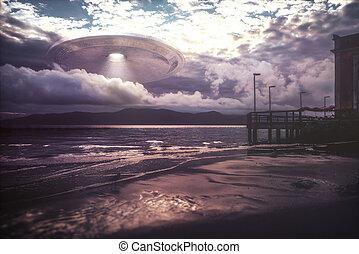 UFO Alien Spaceship Invasion