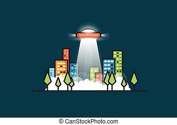 Ufo ray