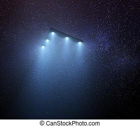 UFO Triangular Unidentified Flying Object