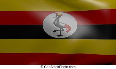 uganda strong wind flag