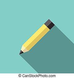 uggia, matita grafite, lungo
