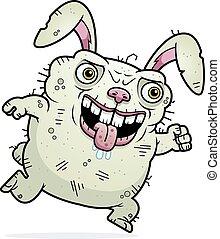 Ugly Bunny Running