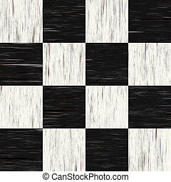 ugly checkered flooring - Black and white checkered floor...