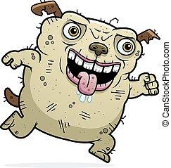 Ugly Dog Running