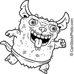 Ugly Gremlin Running