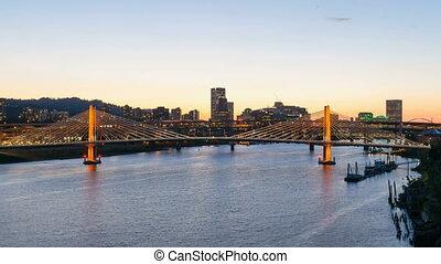 UHD 4k Time Lapse Portland Oregon