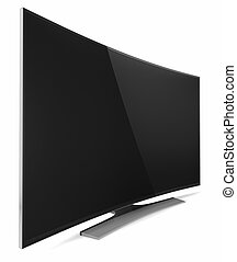 UHD Smart Tv with Curved screen