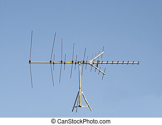 UHF VHF Television Antenna - Uhf Vhf Television Antenna...