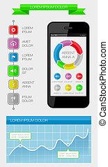 Ui, infographics and web elements i