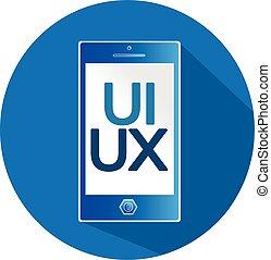 ui, ux, icono, señal, diseño