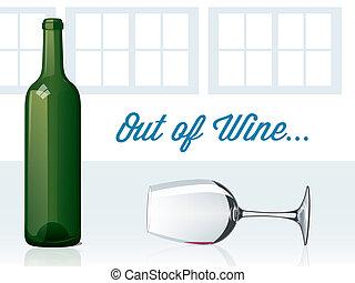 uit, wijntje