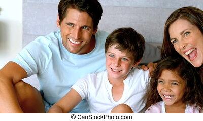 uitgeven, samen, tijd, gezin