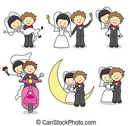 uitnodiging, trouwfeest