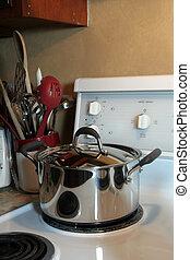 uitrusting, het koken