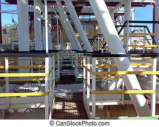 uitrusting, olie handelt af