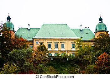 Ujazdowski Castle, Warsaw. Poland