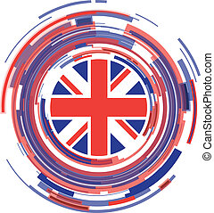 uk abstract icon