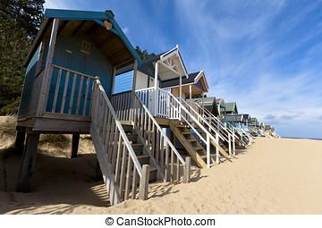 UK Beach huts