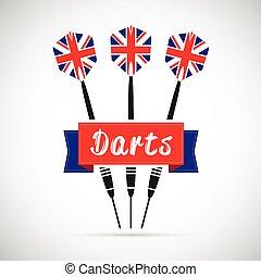 uk darts background
