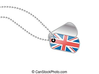 UK dog tag