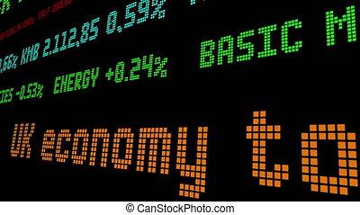 UK economy to slump over 10 percent stock ticker