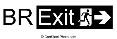 UK exit from the European Union symbol