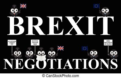UK exit negotiations from the European Union