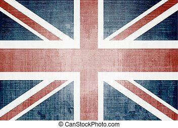 UK flag - Grunge Flag Of The United Kingdom