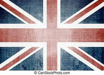 UK flag - Grunge Flag Of The United Kingdom
