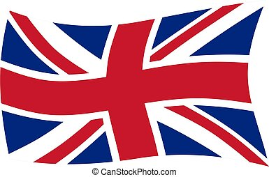 uk flag illustration