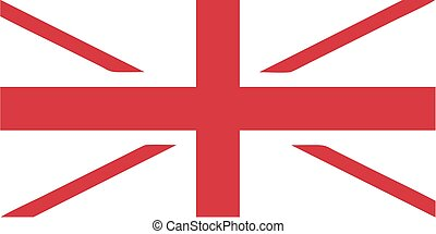 UK flag without blue