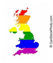 uk gay map