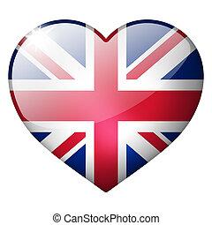 uk heart button