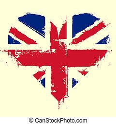 UK Heart Grunge