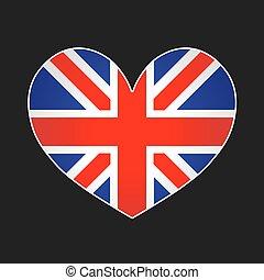 UK heart.
