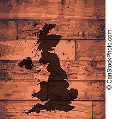 UK Map Brand