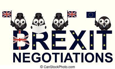 UK Negotiations - Comical United Kingdom negotiation ...