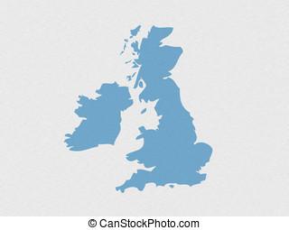 UK outline map