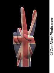 UK Peace Sign