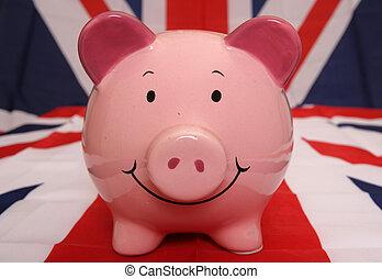 uk, piggybank