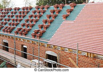 UK roof tiles