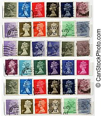 UK Stamps - Range of UK postage stamps