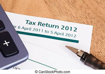 UK Tax Return 2012