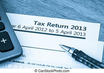 UK tax return 2013