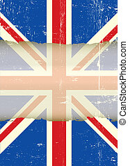 UK torn flag